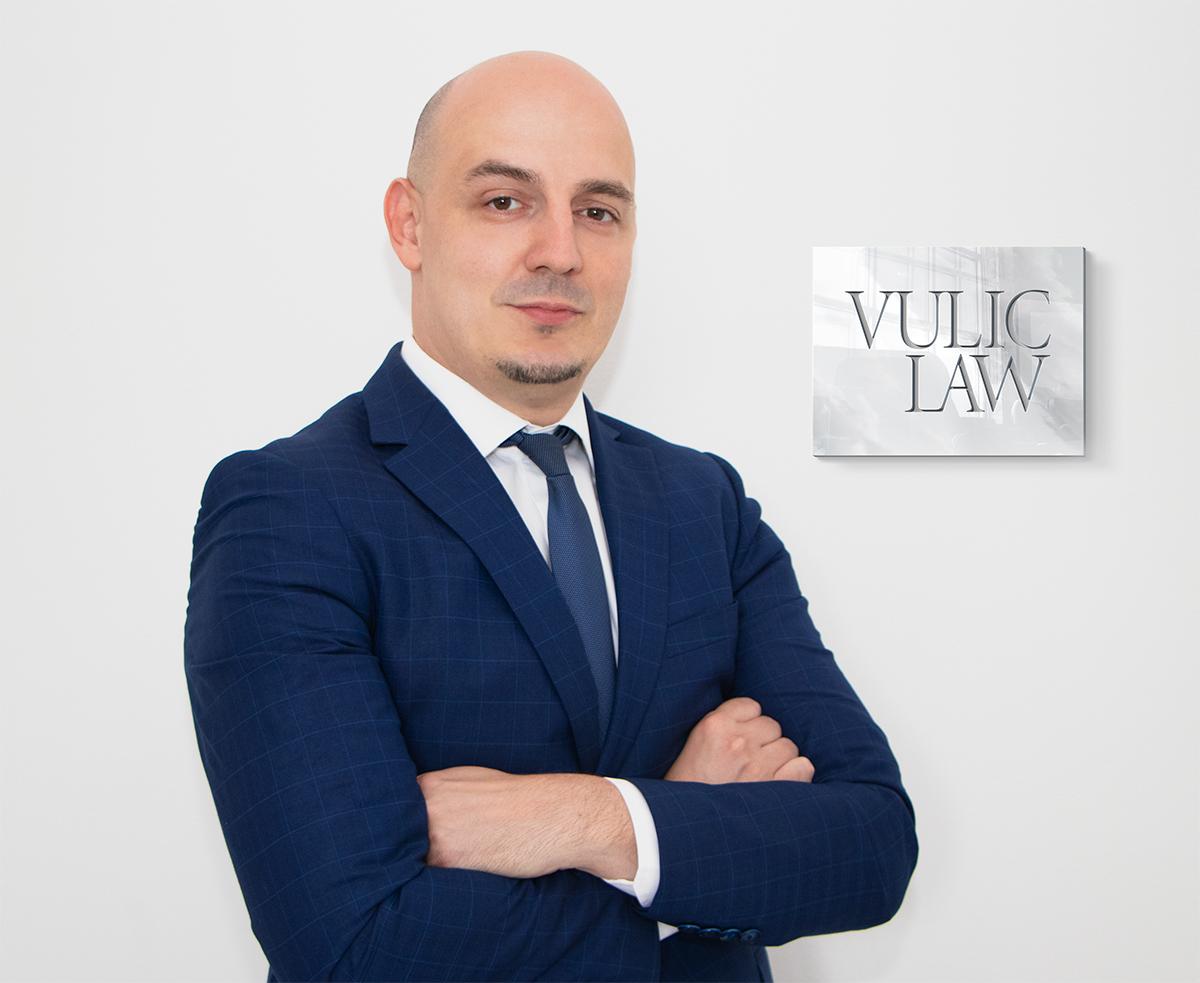 Miloš Vulić | Milos Vulic Advokat | Vulic Law